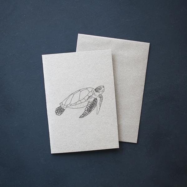 Sea Turtle Gift Card